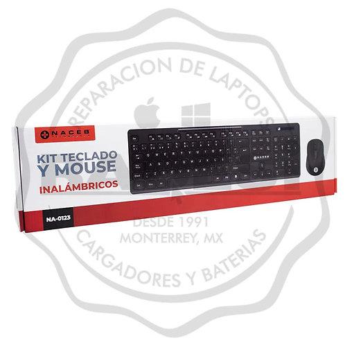 Kit teclado y mouse inalámbricos NACEB