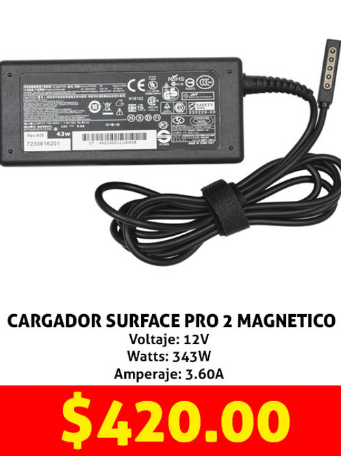 Cargador para tablet Surface 2 magnetico