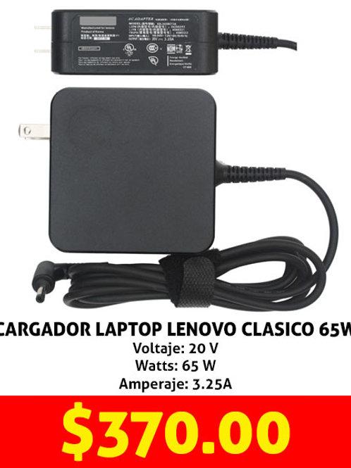 Cargador para laptop Lenovo 65W