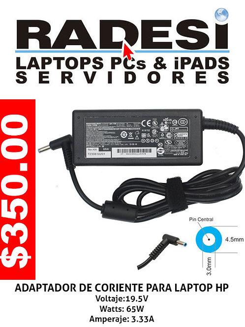 Cargador para laptop HP azul