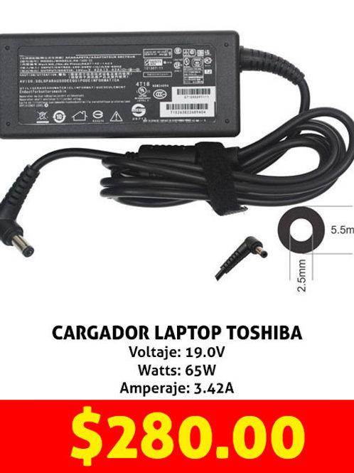 Cargador para laptop Toshiba