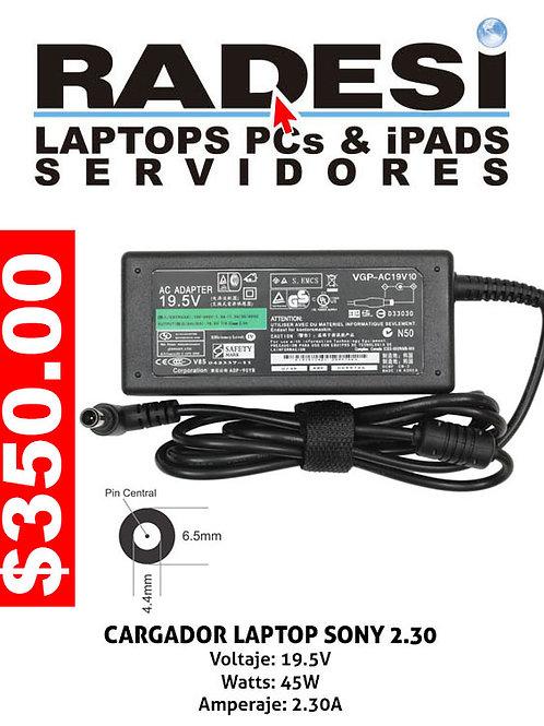 Cargador para laptop Sony 2.30A