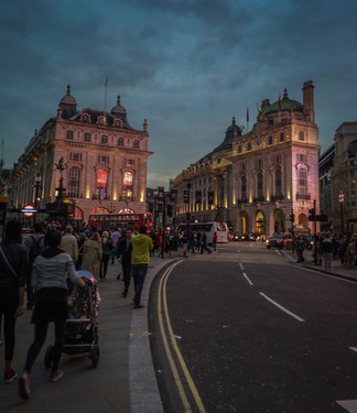 Picadilly Circus. Londres.