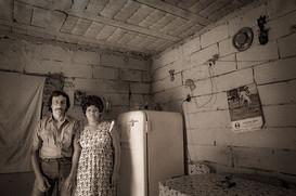 Gente en su casa Inundados 009