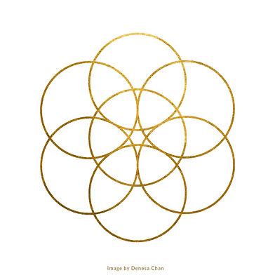 Golden Circles Higher Resolution Image b