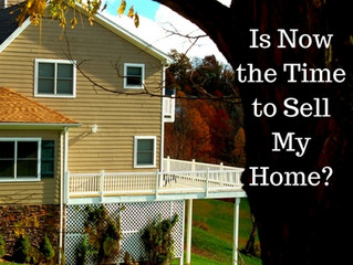 Is Now the Time to Sell My Home?