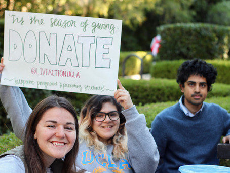 UCLA's Pregnant on Campus Initiative's Holiday Service