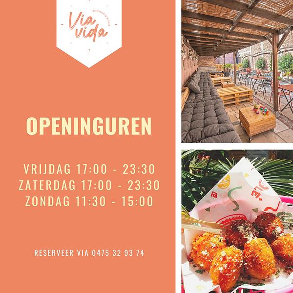 Orange Yellow Photo Open House Invitatio