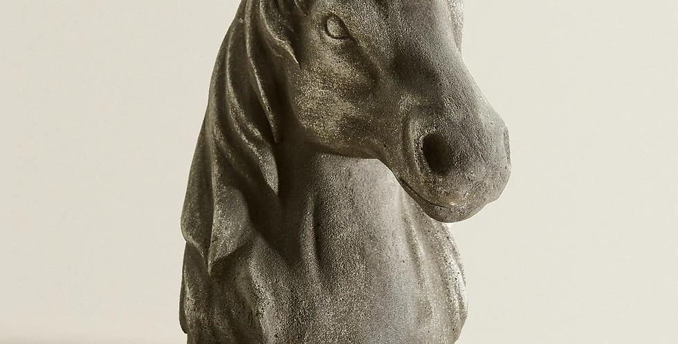 Horse Head Figure