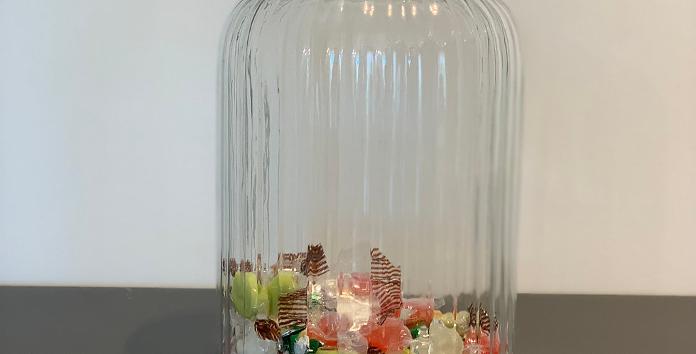 Large Jar With Lid