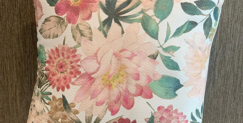 Flowered Cushion 50x50cm
