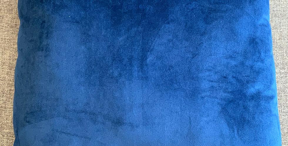 Blue Velvet Cushion 45x45cm