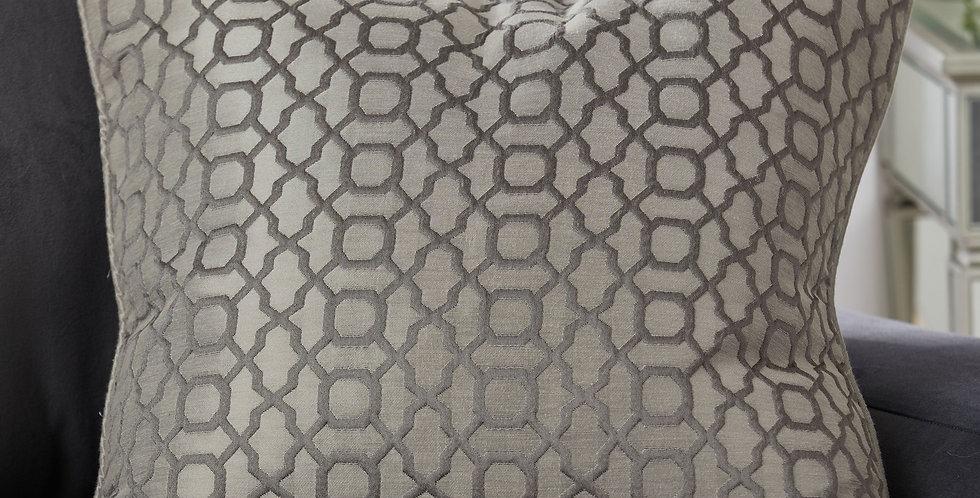 Silver Cushion 60x60cm