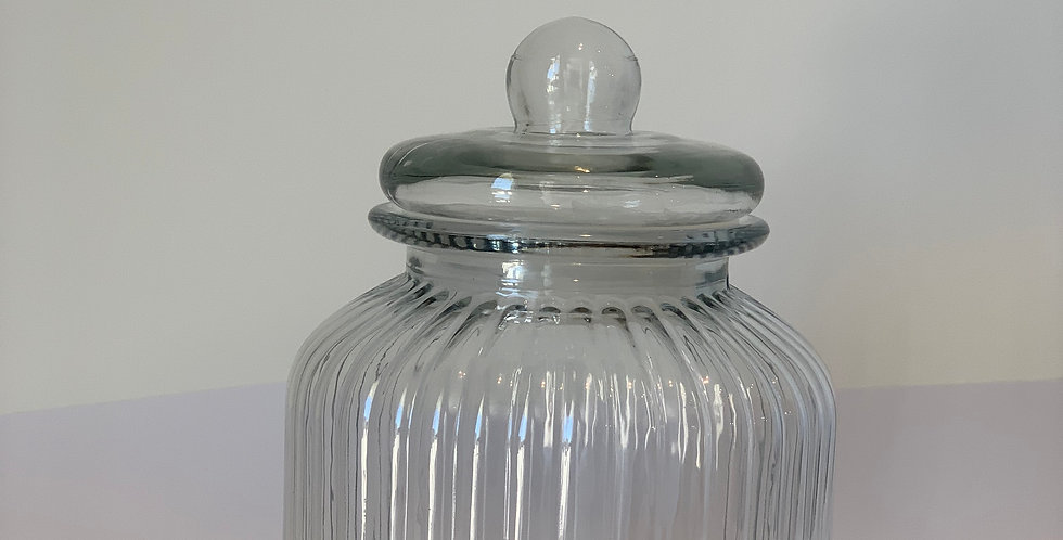 Glass Jar with cover