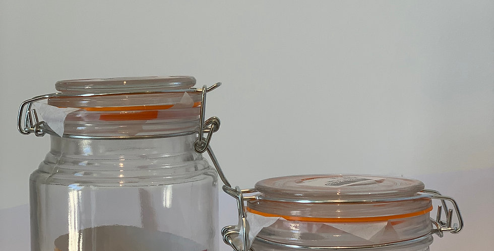 Jar With Lid Large