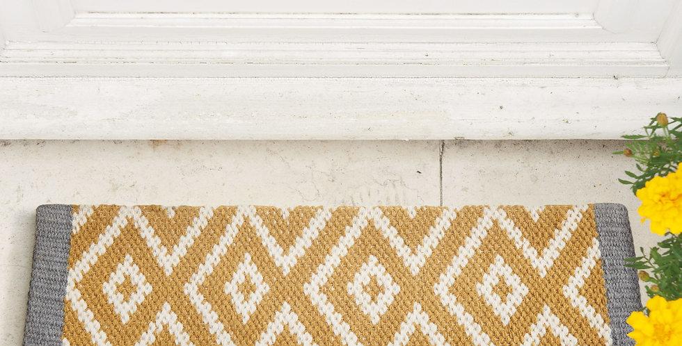 Door Carpet Yellow
