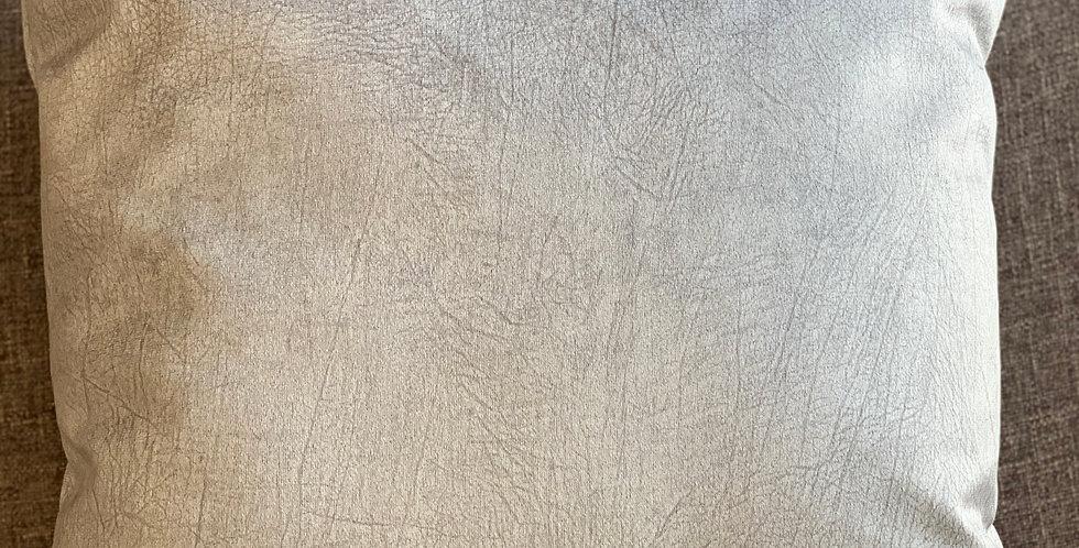 Silver 45x45cm Cushion