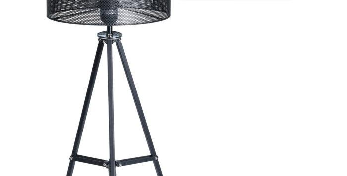 Table Lamp Metal Black