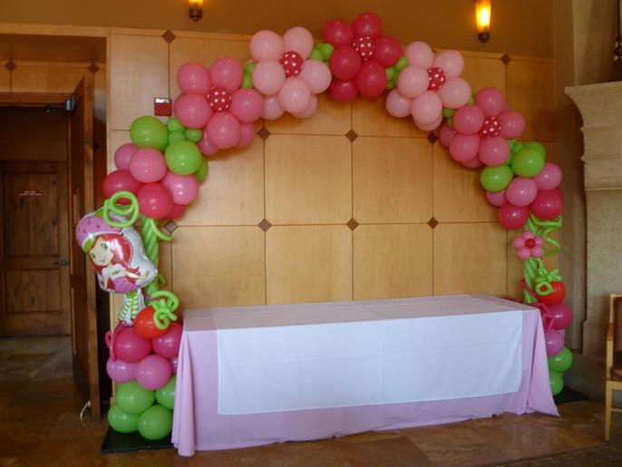 Cupcake Flower Arch