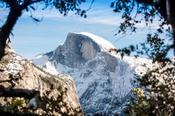 Half Dome, Yosemite, California.