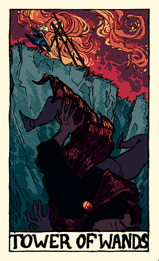 Tower of Wands