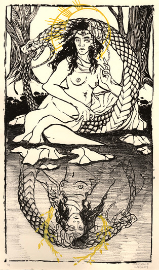 The Mother Goddess, Body of the Universe, is Self Impregnating (Not Empowered Woman But Holy Deviant)