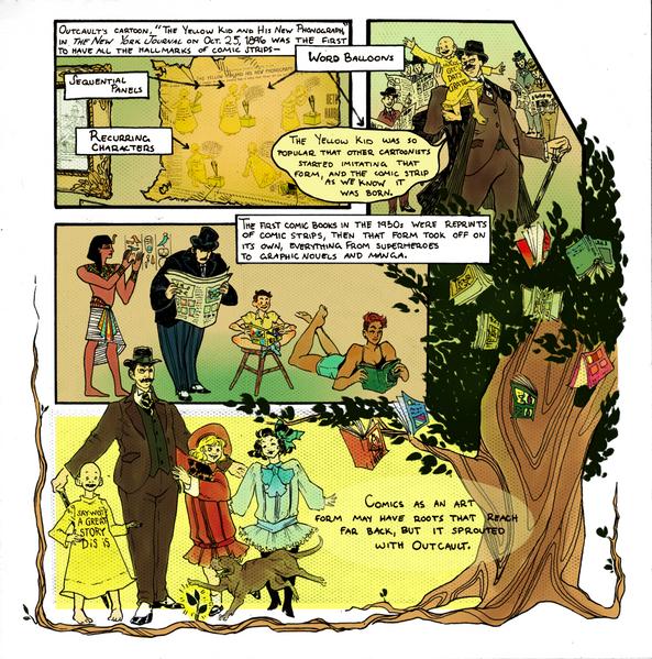 R. F. Outcault, Father of Comics II