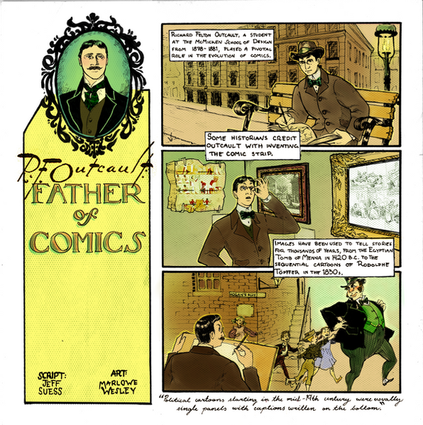 R. F. Outcault, Father of Comics I