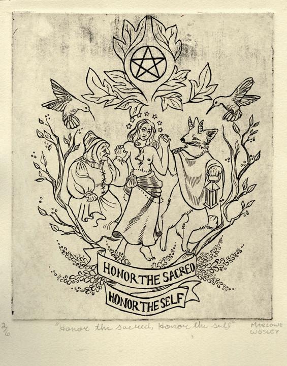 Honor the Sacred, Honor the Self (Insignia)