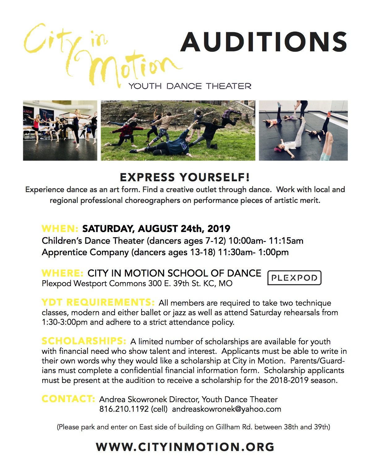 YDT audition notice