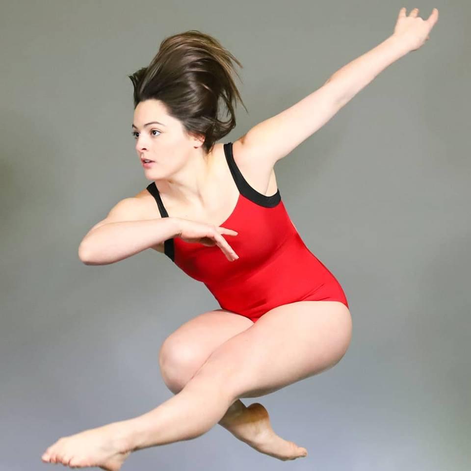 Becky dance shot