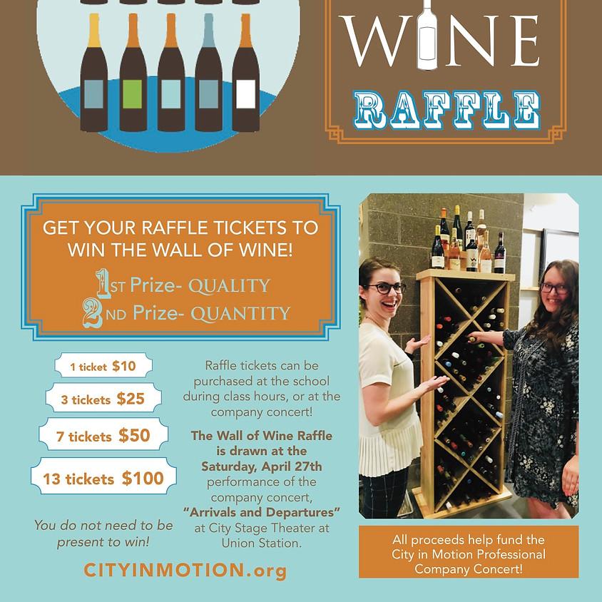 Wall of Wine Raffle!