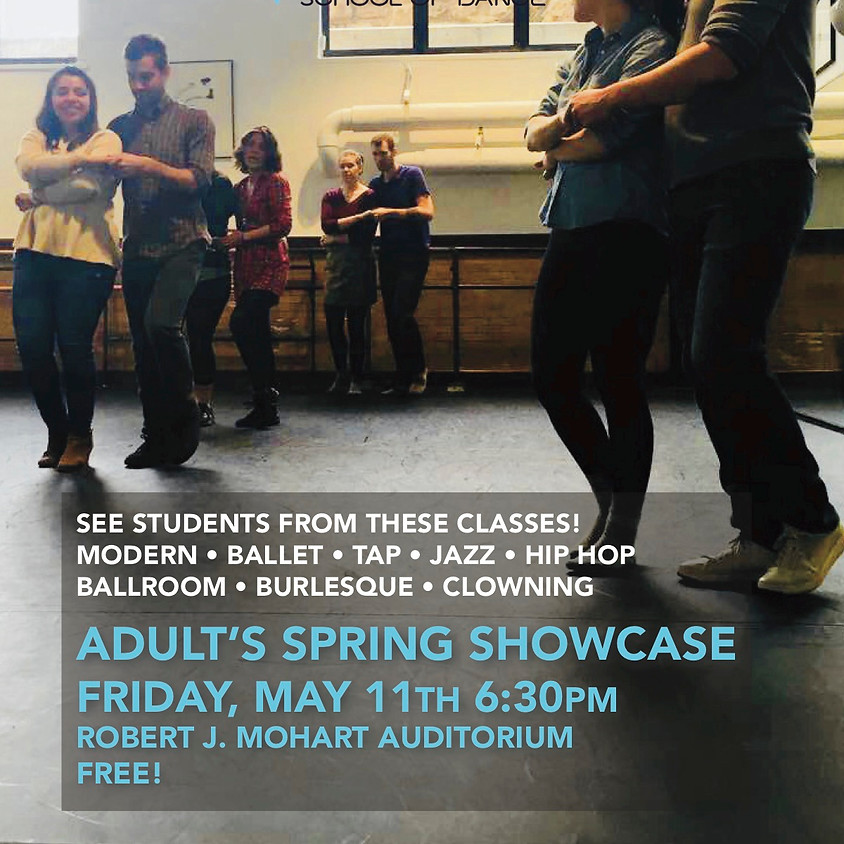 Adult's Spring Showcase