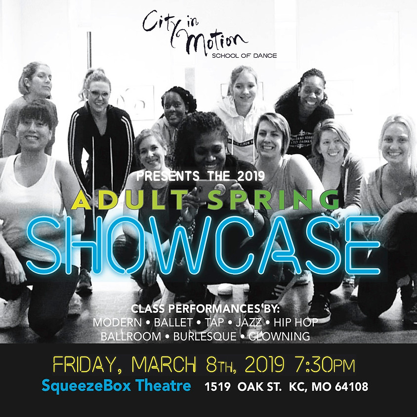 Adult Spring Showcase