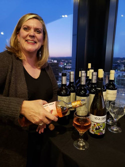 Kathy Pinnicle wine and coco 2019