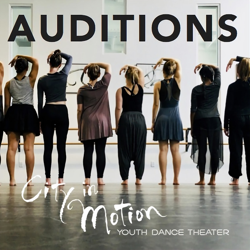 Youth Dance Theater AUDITIONS