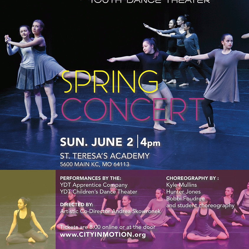 Youth Dance Theater Spring Concert