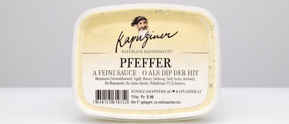 Kapuziner Saucen Pfeffer Dip Sauce Liechtenstein Schweiz
