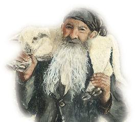 Kapaziner Kapuziner Gemälde Der Kapuziner mit Lamm auf Schulter Triesen