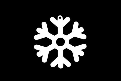 Ohrringe - Schneeflocke