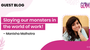 Slaying our monsters in the world of work!