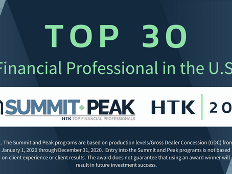 Top 30 Financial Professional in the U.S.