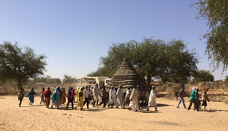 Moving home in Darfur