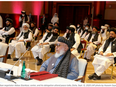 How the Taliban's Rivalry With ISIS Is Shaping the Afghan Peace Talks