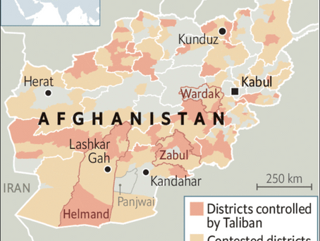 Afghanistan - negotiations are not making much headway, but the insurgency is....