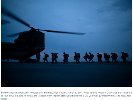 U.S. Withdrawal from Afghanistan: End to an Endless War?
