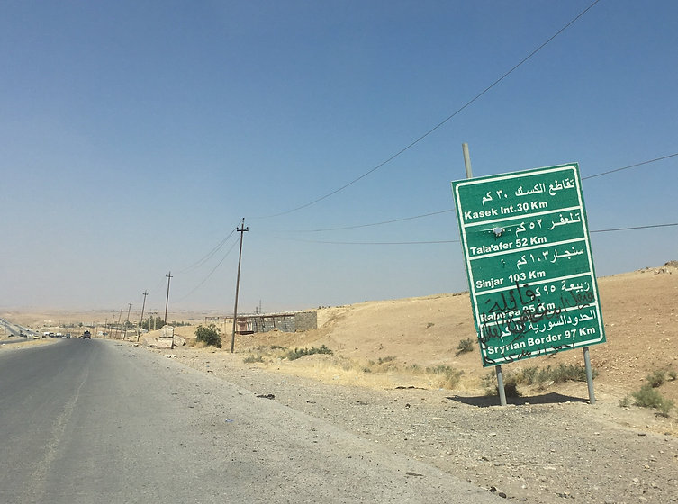 West of Mosul, Iraq