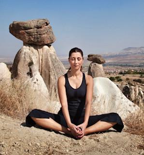 Meditasyon öğrenin - daha fazla rahatlama ve günlük yaşamınıza odaklanın.