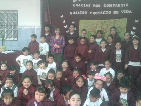 Visita de Myriam Cameros Sierra.