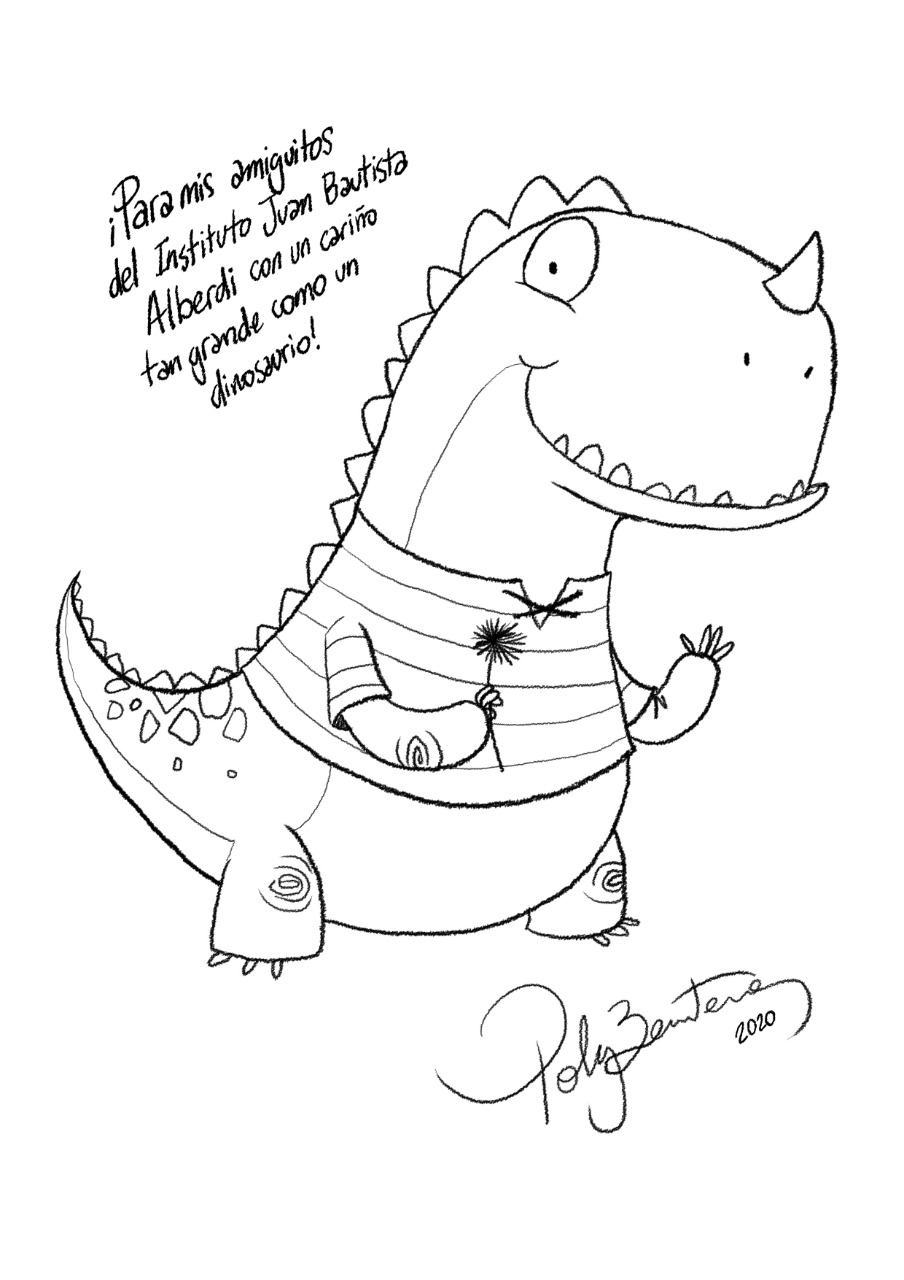 Pata de dinosaurio - Poly Bernatene